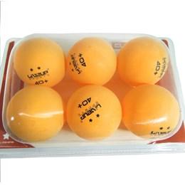 Bola de Tênis de Mesa Ping Pong Liveup 2 Estrelas 6 Unidades