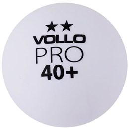 Bola de Tênis de Mesa VOLLO VT611 6 Unidades Branca