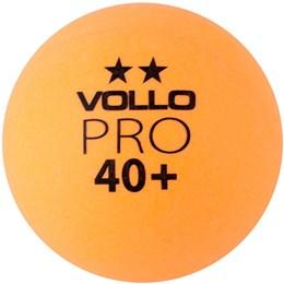 Bola de Tênis de Mesa VOLLO VT612 6 Unidades Laranja