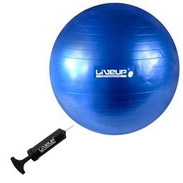 Bola Suíça para Pilates 65 CM Premium LIVEUP LS3222 65 PR com Bomba