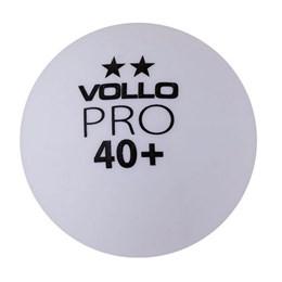 Bola Tênis Mesa com 36 Unidades 2 Estrelas Vollo VT607