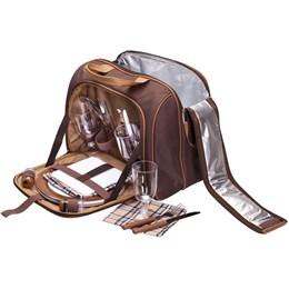 Bolsa Térmica 17 Litros com Kit Pic Nic para 4 Pessoas - Guepardo KA0300