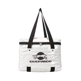 Bolsa Térmica Guepardo Casus 6,9L com Alça e Zíper Branco