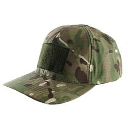 Boné Cia Militar 6 Gomus Rip Stop Camuflado com Regulagem