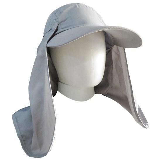 Boné Echolife Legionário com Máscara e Proteção UV 40 em Poliéster