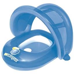 Bote Infantil Inflável Bestway Cuidados com o Bebê Azul Proteção UPF 50+