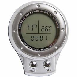 Bússola com Relógio, Cronômetro e Termômetro Digital Vivitar VIV-DC40