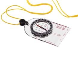 Bússola Mapa em Plástico com Régua Guepardo OB0200 Preto