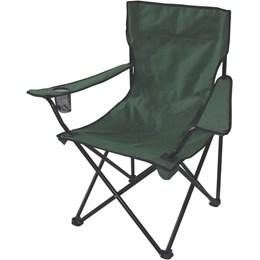 Cadeira Aurora Dobrável com Braço e Porta-Copos Verde - EchoLife