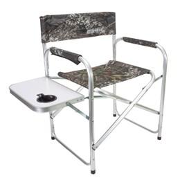 Cadeira Camping Nautika Diretor Camuflado até 90 Kg com Mesinha e Porta Copo