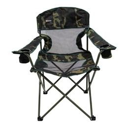 Cadeira Dobrável Fresno com 2 Porta Copos - Nautika-Camuflado