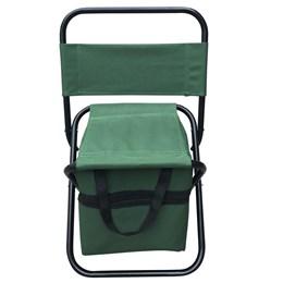 Cadeira Dobrável Importway para Camping com Bolsa Embutida Verde