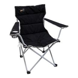 Cadeira Dobrável Nautika Boni com Porta Copo Preto
