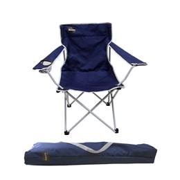 Cadeira Dobrável para Camping com Porta Copos Alvorada - Nautika