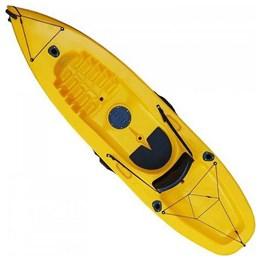 Caiaque para 1 Pessoa Caiaker Fishing Amarelo com Alças