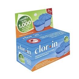 Caixa com 25 Pastilhas Clorin 1000 para Purificação de Aguá Nautika