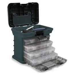 Caixa Plástica com Bandeja e Organizadores Multiuso MB1 - Nautika 303700