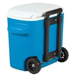 Caixa Térmica 15,2 Litros Azul com Rodas 16 QT Coleman