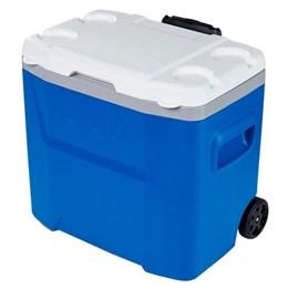 Caixa Térmica 26 Litros Igloo Laguna 28QT Roller 2020 Azul com Rodas e Alça