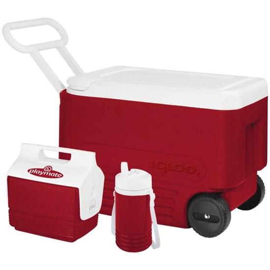 Caixa Térmica 36 Litros Wheelie Cool 38 QT Combo - Igloo