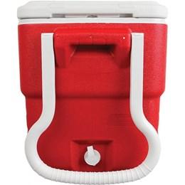 Caixa Térmica 40QT com Rodas 38 Litros Vermelho - Coleman