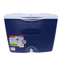 Caixa Térmica 42,5 Litros 45 QT Azul com Rodas - Rubbermaid