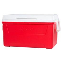 Caixa Térmica 45 Litros Igloo Laguna 48QT 2020 Vermelho com Alça