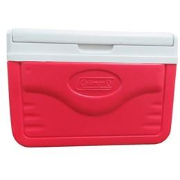 Caixa Térmica 5 QT 4,7 Litros com Alça e Porta Latas - Coleman Vermelho