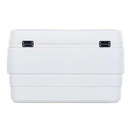 Caixa Térmica 51 Litros Igloo Marine Ultra 54QT 2020 Branco com Alça