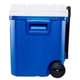 Caixa Térmica 56 Litros Laguna 60QT Roller 2020 Azul com Rodas e Alça