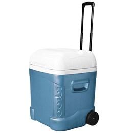 Caixa Térmica 66L Igloo 70 QT + Garrafa Térmica Stanley 1 Litro Aço Inox Azul