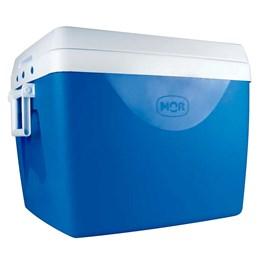 Caixa Térmica 75 Litros Mor + Garrafa Térmica Stanley 1 Litro em Aço Inox Azul