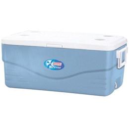 Caixa Térmica 94,7L Coleman 100 QT Xtreme 5 Cooler Azul e Branca