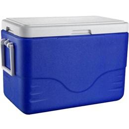Caixa Térmica Azul 26,5 Litros com Alça Ergonômica e Tampa Removível 28 QT - Coleman