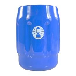 Caixa Térmica Coleman 45,4 Litros All Black + 2 Porta Latas Térmico 350 ml Azul