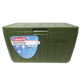 Caixa Térmica Coleman 48 QT 45,4 Litros All Green