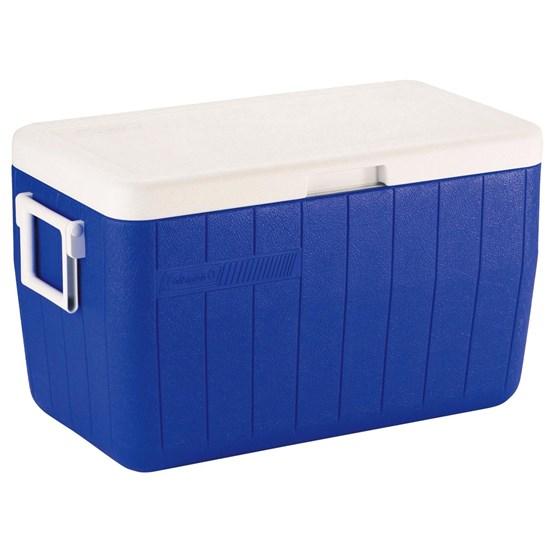 Caixa Térmica Coleman 48 QT 45,4 Litros Azul