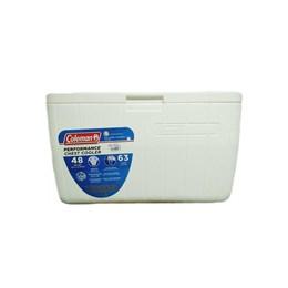 Caixa Térmica Coleman 48 QT 45,4 Litros Branca