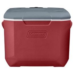Caixa Térmica Coleman Xtreme 5 47,3 Litros Vermelha com Alça e Rodas