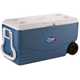 Caixa Térmica Coleman Xtreme 94,6 Litros 100 QT com Rodas Azul