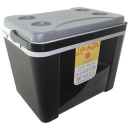 Caixa Térmica Lavita 34 Litros Preta com Alça