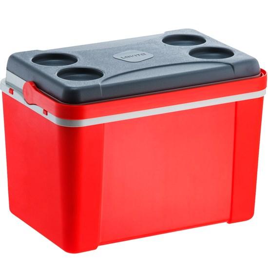 Caixa Térmica Lavita 34 Litros Vermelha com Alça