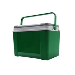 Caixa Térmica Lavita Tradicional 12 Litros Verde com Porta Copos e Alça