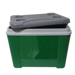 Caixa Térmica Lavita Tradicional 34 Litros Verde com Porta Copos e Alça