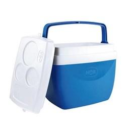 Caixa Térmica MOR 12 Litros para Camping Azul