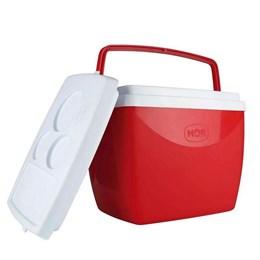 Caixa Térmica MOR 18 Litros para Camping Vermelha