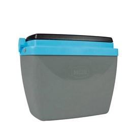 Caixa Térmica MOR 6 Litros para Camping Cinza e Azul