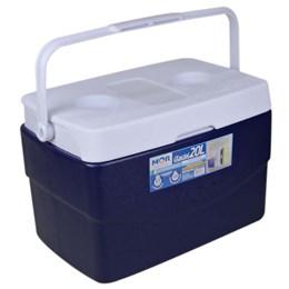 Caixa Térmica Mor Glacial 20 Litros com Alça de Transporte