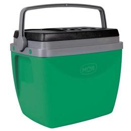 Caixa Térmica Mor Vida Verde 18 Litros com Porta Copos