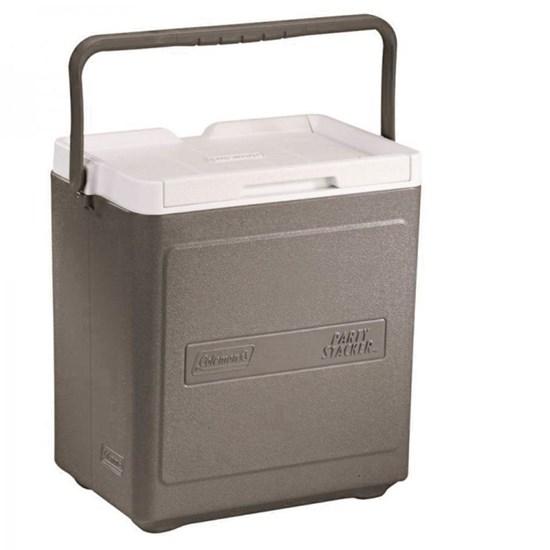 Caixa Térmica Stacker 18QT 17 Litros Empilhável Cinza - Coleman